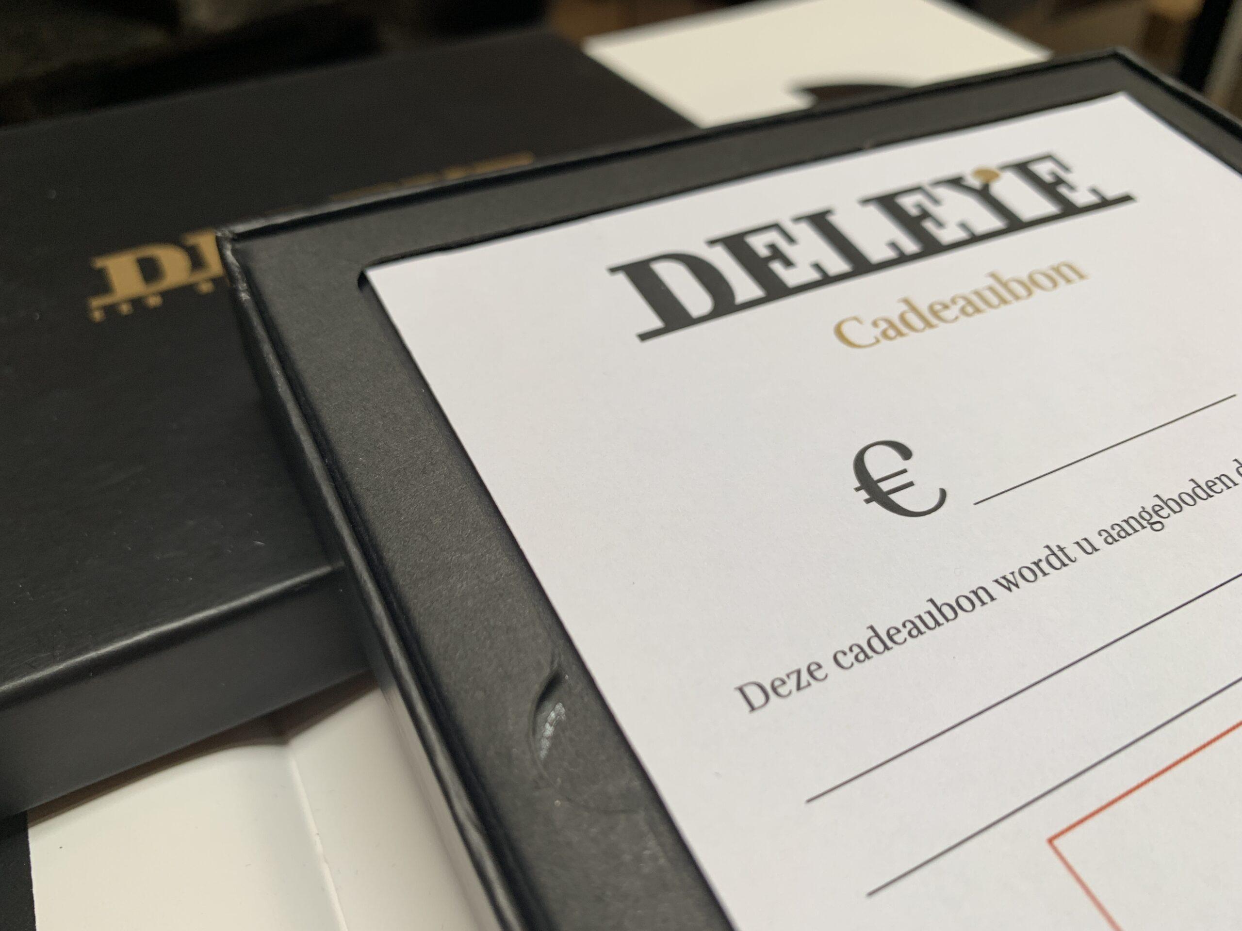 Cadeaubon Deleye