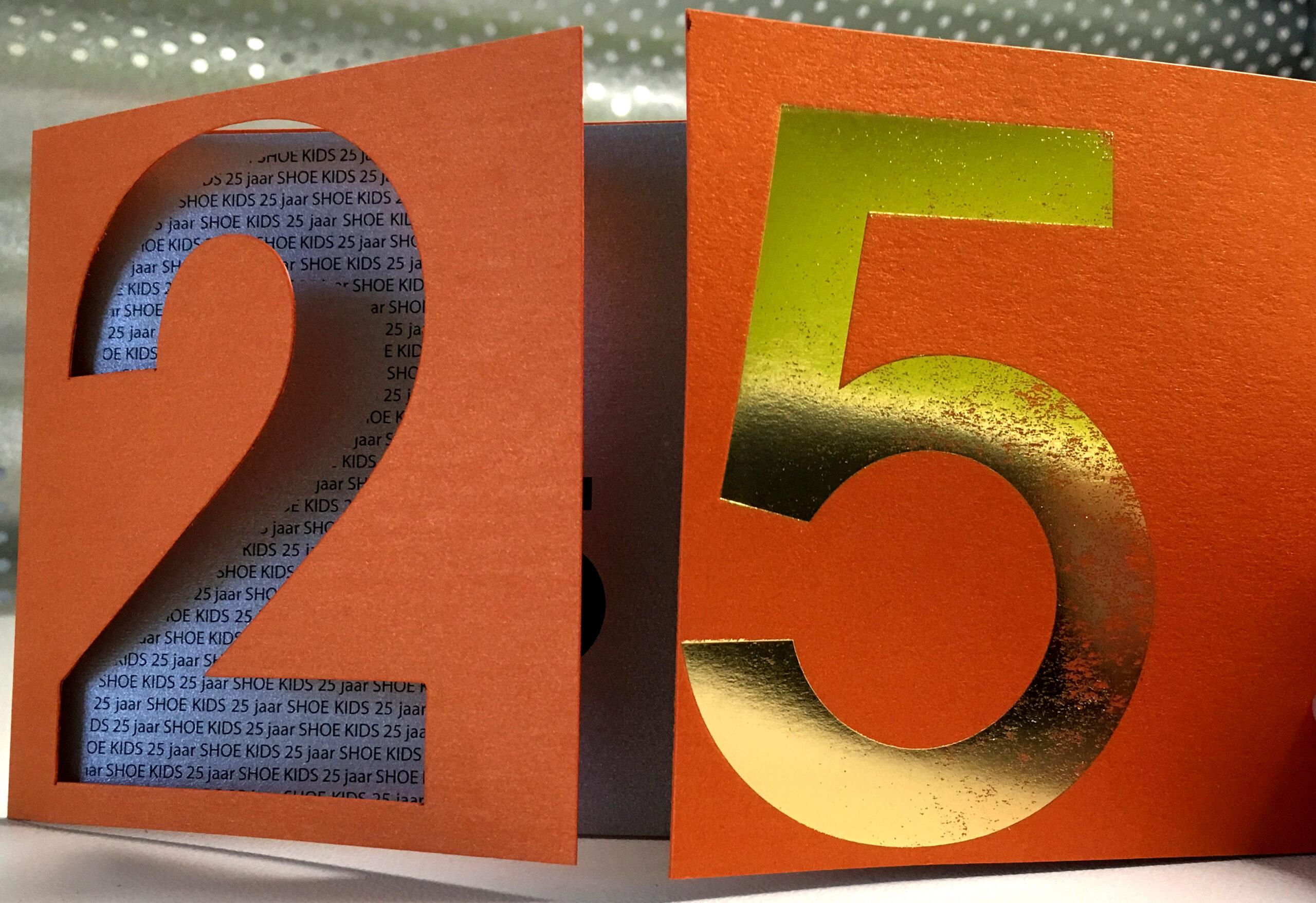 Uitnodiging 25 jubileum